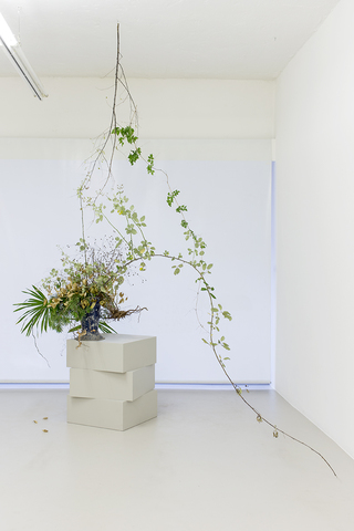 Ikebana site-specific installation